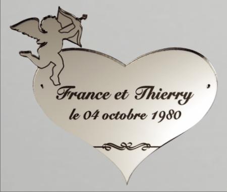 Miroir Cupidon - Cadeau personnalise personnalisable - 1