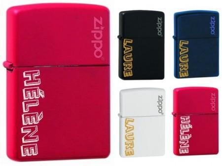 Briquet Zippo - Modèle Fashion - Cadeau personnalise personnalisable - 1