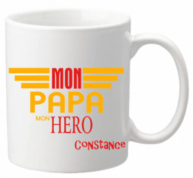 x Mug Papa  Mod.23 - Cadeau personnalise personnalisable - 1