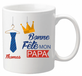 x Mug Papa Mod.24 - Cadeau personnalise personnalisable - 1
