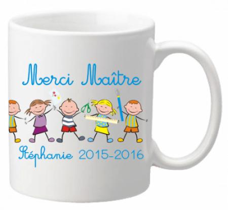 Mug Farandole Maître - Cadeau personnalise personnalisable - 1