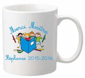 Mug Maître Livre - Cadeau personnalise personnalisable - 1