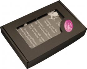 Boite cartonnée Plaque - Cadeau personnalise personnalisable - 1