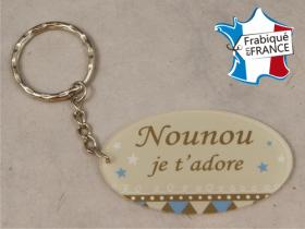 Porte Clef Nounou mod.R - Cadeau personnalise personnalisable - 1