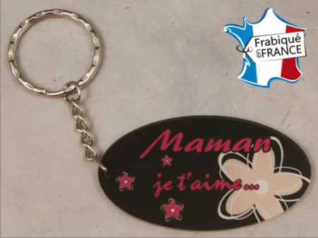 Porte Clef Maman mod.C - Cadeau personnalise personnalisable - 1