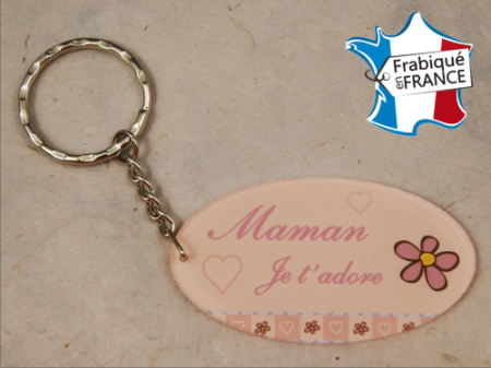 Porte Clef Maman mod.Grose - Cadeau personnalise personnalisable - 1
