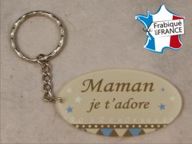 Porte Clef Maman mod.R - Cadeau personnalise personnalisable - 1