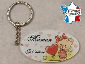 Porte Clef Maman mod.Z1 - Cadeau personnalise personnalisable - 1