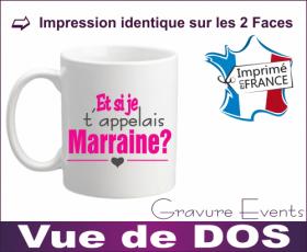 Mug - Et si je t appelais... MARRAINE ? (Mug21Mr) - Cadeau personnalise personnalisable - 3