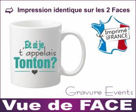 Mug - Et si je t appelais... TONTON ? (Mug21To) - Cadeau personnalise personnalisable - 2