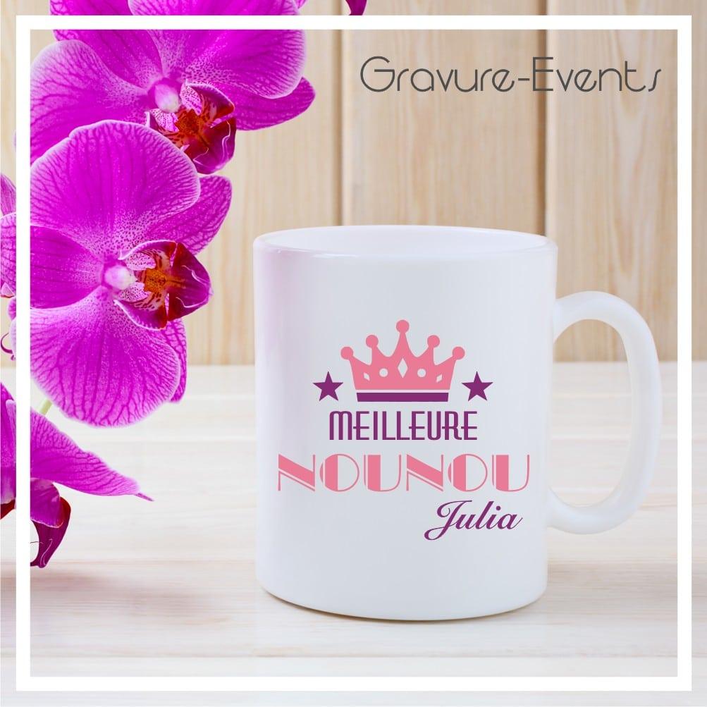 Mug Personnalisé Nounou