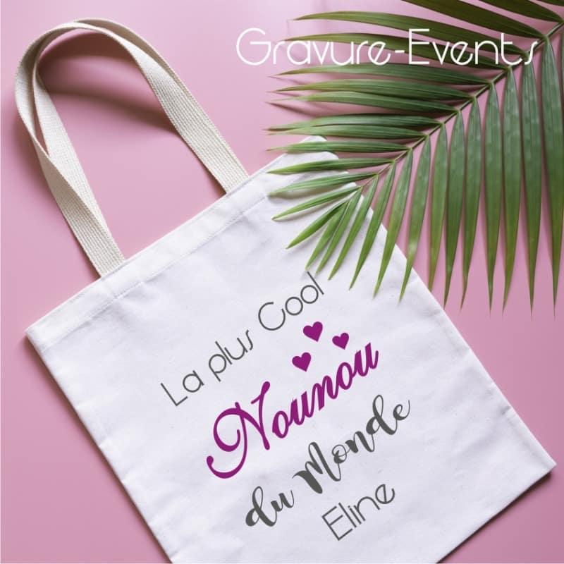 Tote Bag pour Nounou