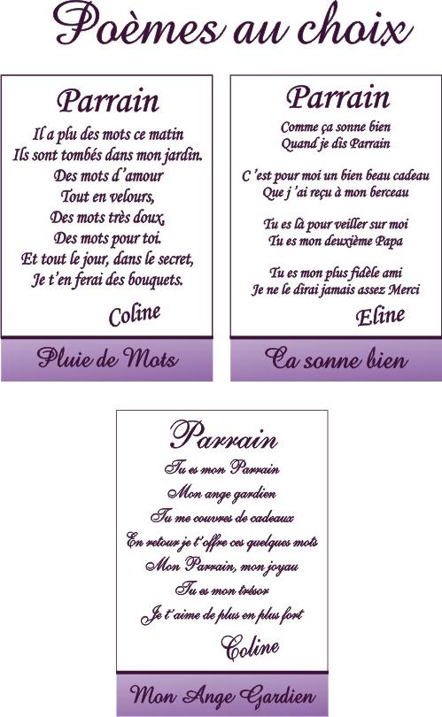 Poèmes pour Parrain
